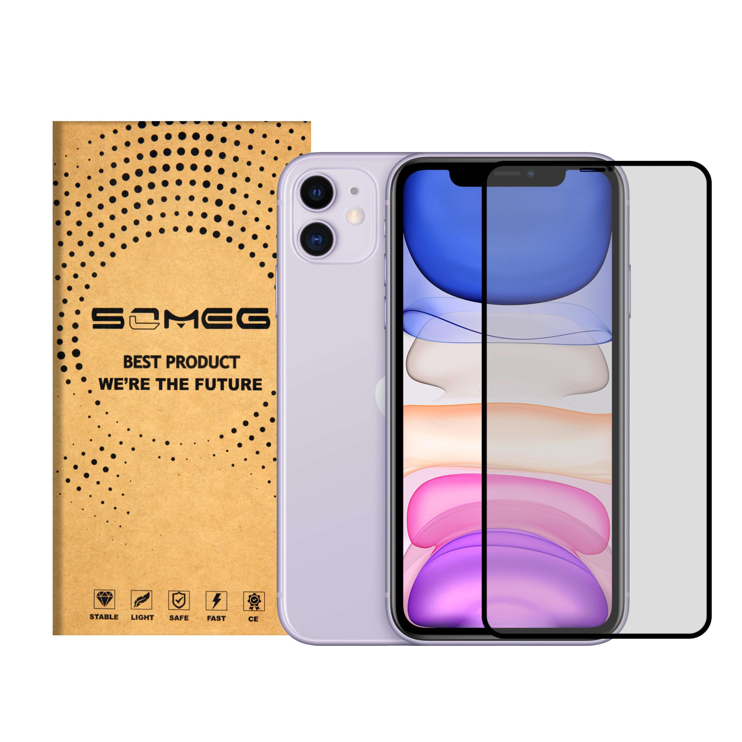 محافظ صفحه نمایش مات سومگ مدل SMG_Dusk مناسب گوشی موبایل اپل iPhone 11