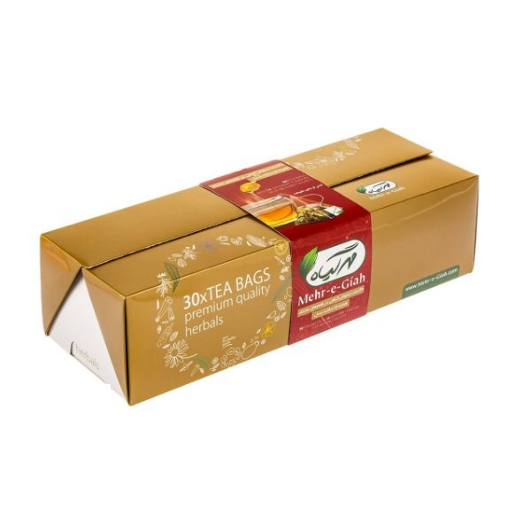 دمنوش گیاهی مهرگیاه بسته 30 عددی به همراه عسل