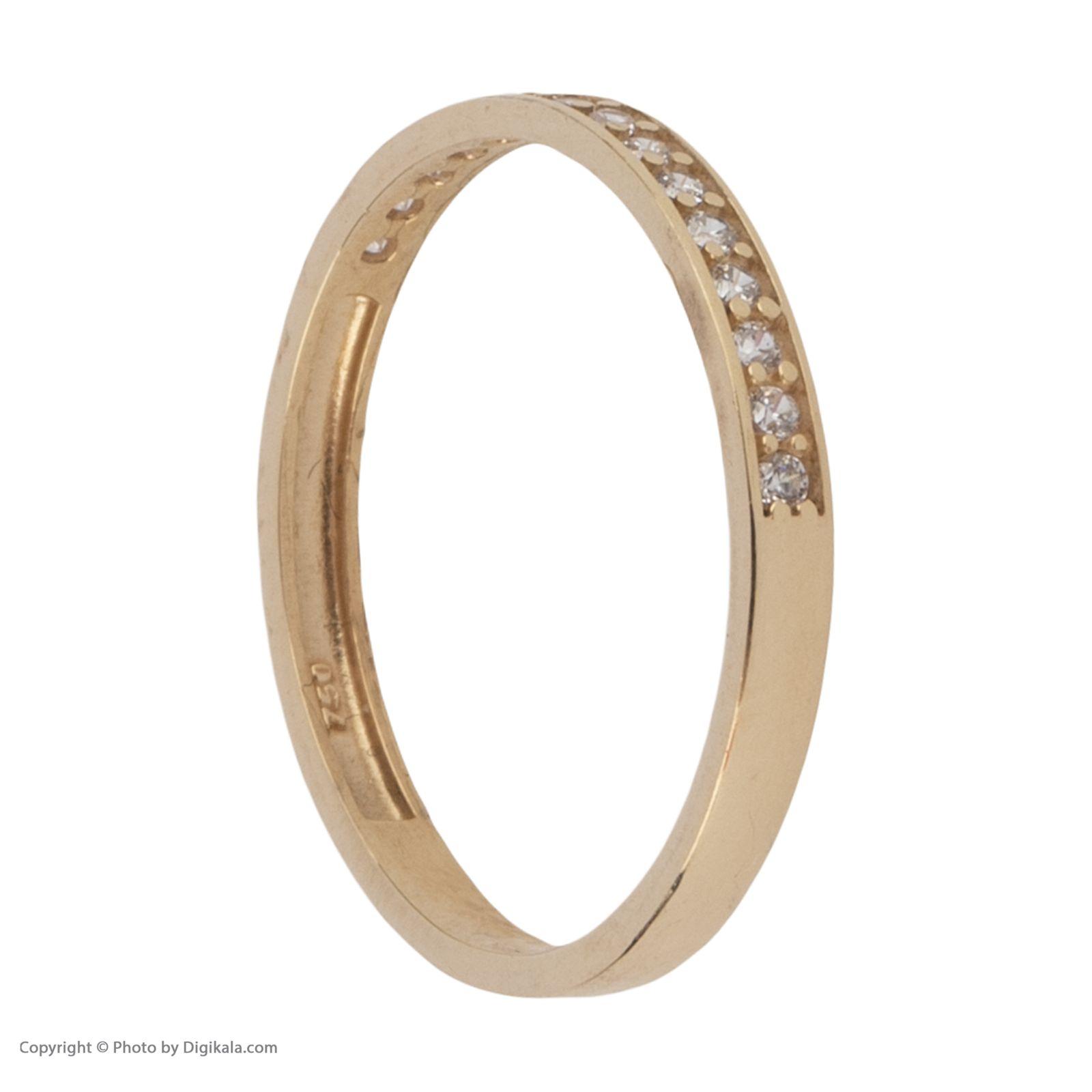 انگشتر طلا 18 عیار زنانه نیوانی مدل NR037 -  - 4