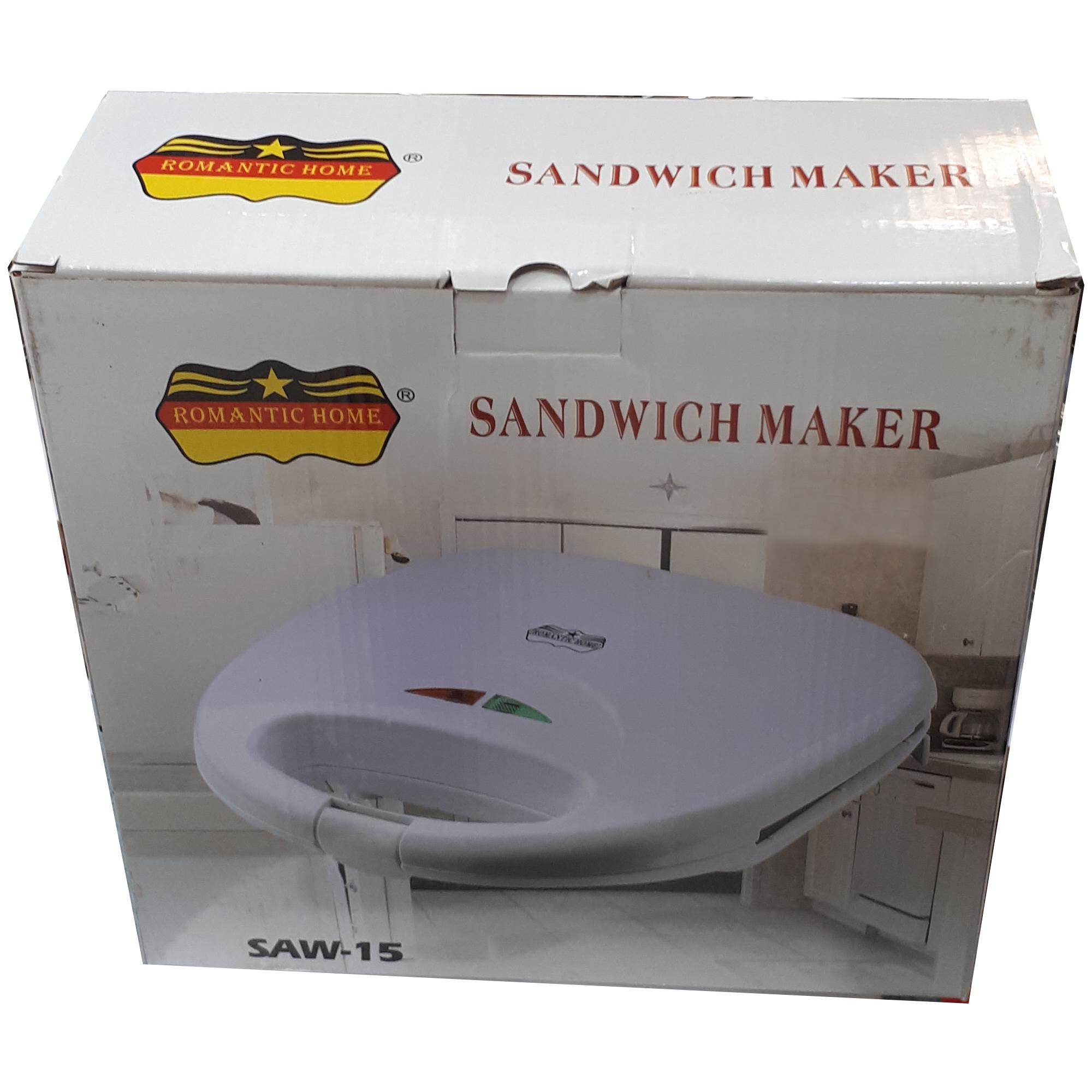 ساندویچ ساز رومانتیک هوم مدل SAW-15 main 1 4