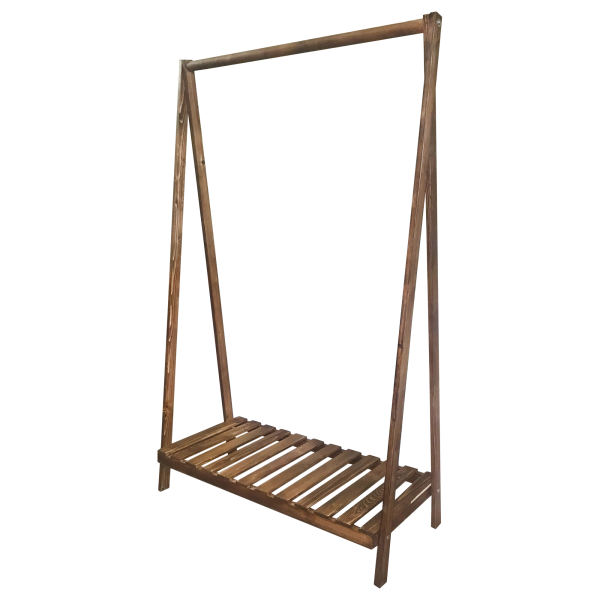 رگال لباس مدل چوبی