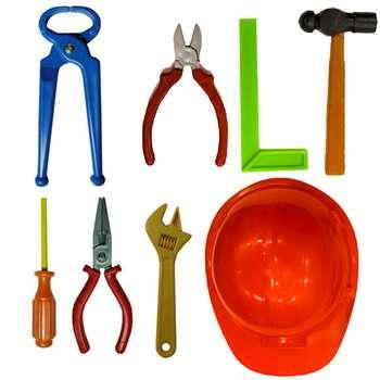 ست اسباب بازی ابزار مدل A01