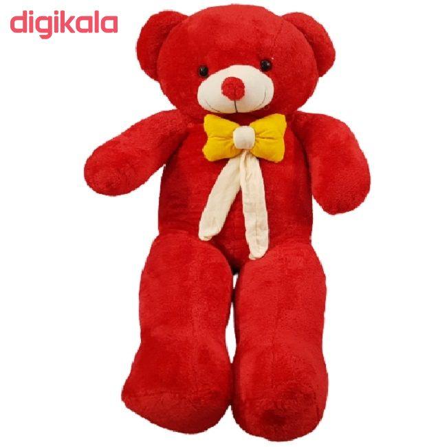 عروسک طرح خرس تدی کد 043 ارتفاع 120 سانتی متر