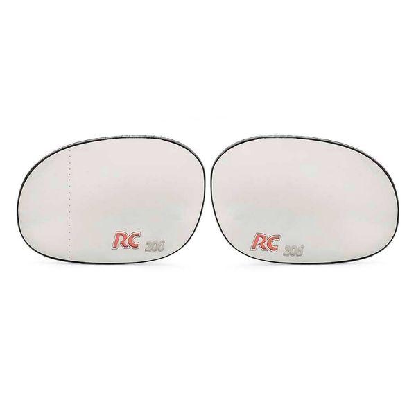 شیشه آینه جانبی خودرو مدل PERC مناسب برای پژو 206 بسته دو عددی