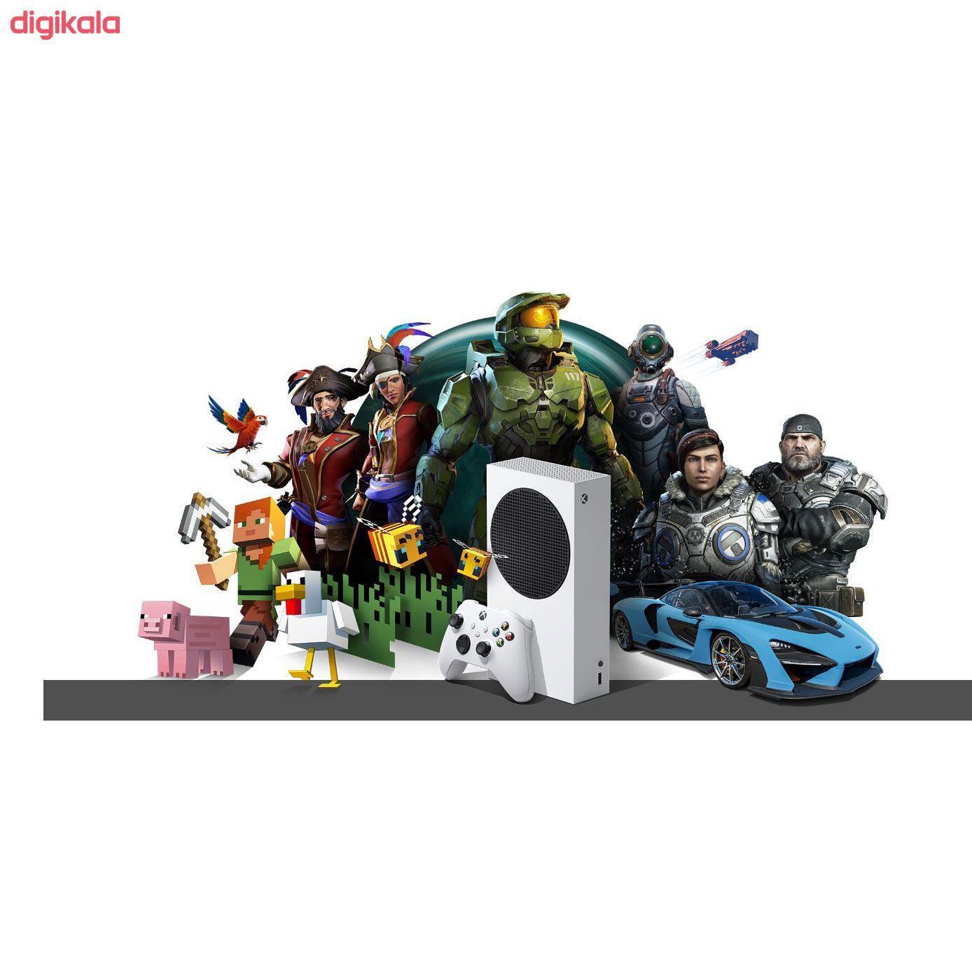 کنسول بازی مایکروسافت مدل XBOX SERIES S ظرفیت 512 گیگابایت main 1 17