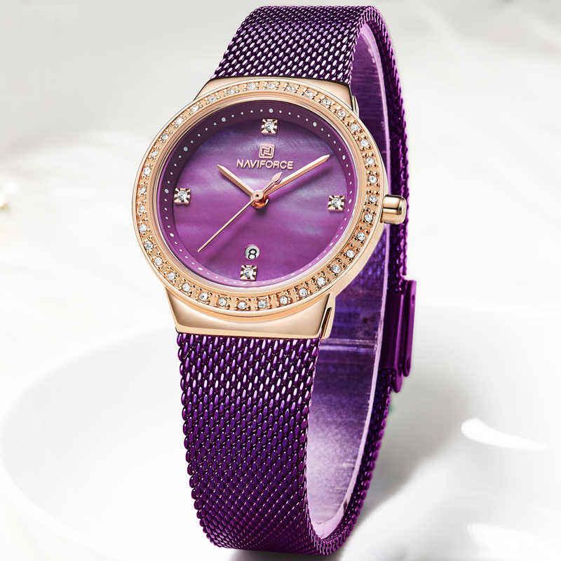خرید و قیمت                      ساعت مچی  زنانه نیوی فورس مدل NF5005L -RG-PE