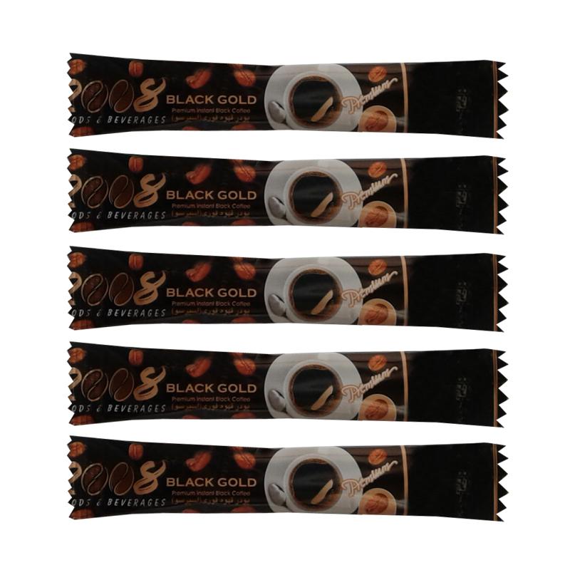 پودر قهوه فوری بلک گلد 2008 بسته 5 عددی
