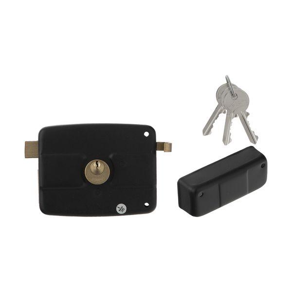 قفل در حیاطی پارس کد 001