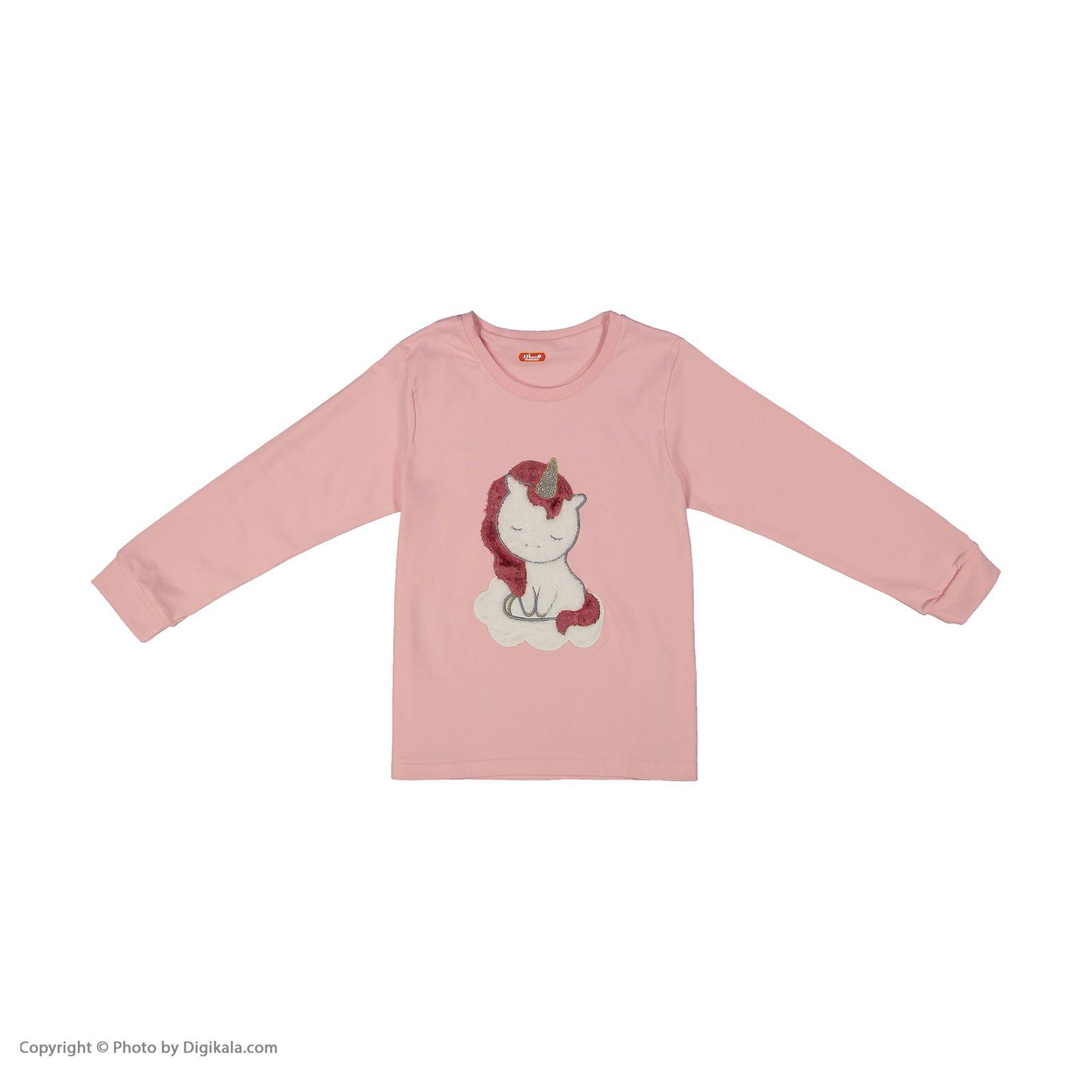 ست تی شرت و شلوار دخترانه مادر مدل 303-84 main 1 4