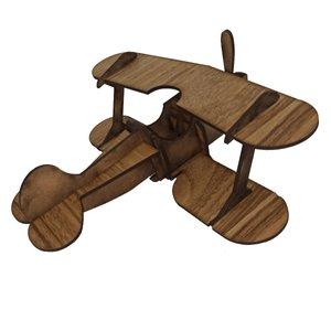 ماکت دکوری چوبی مدل هواپیما