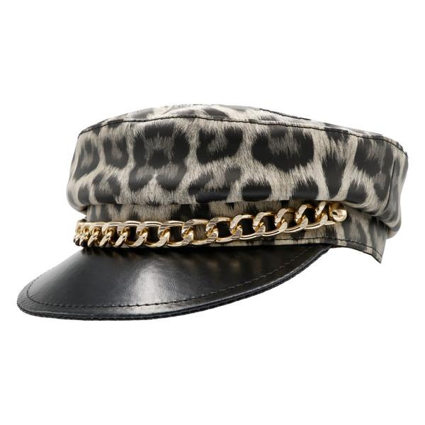 کلاه کپ زنانه مدل پلنگی