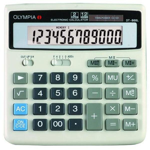 ماشین حساب المپیا مدل DT-868L