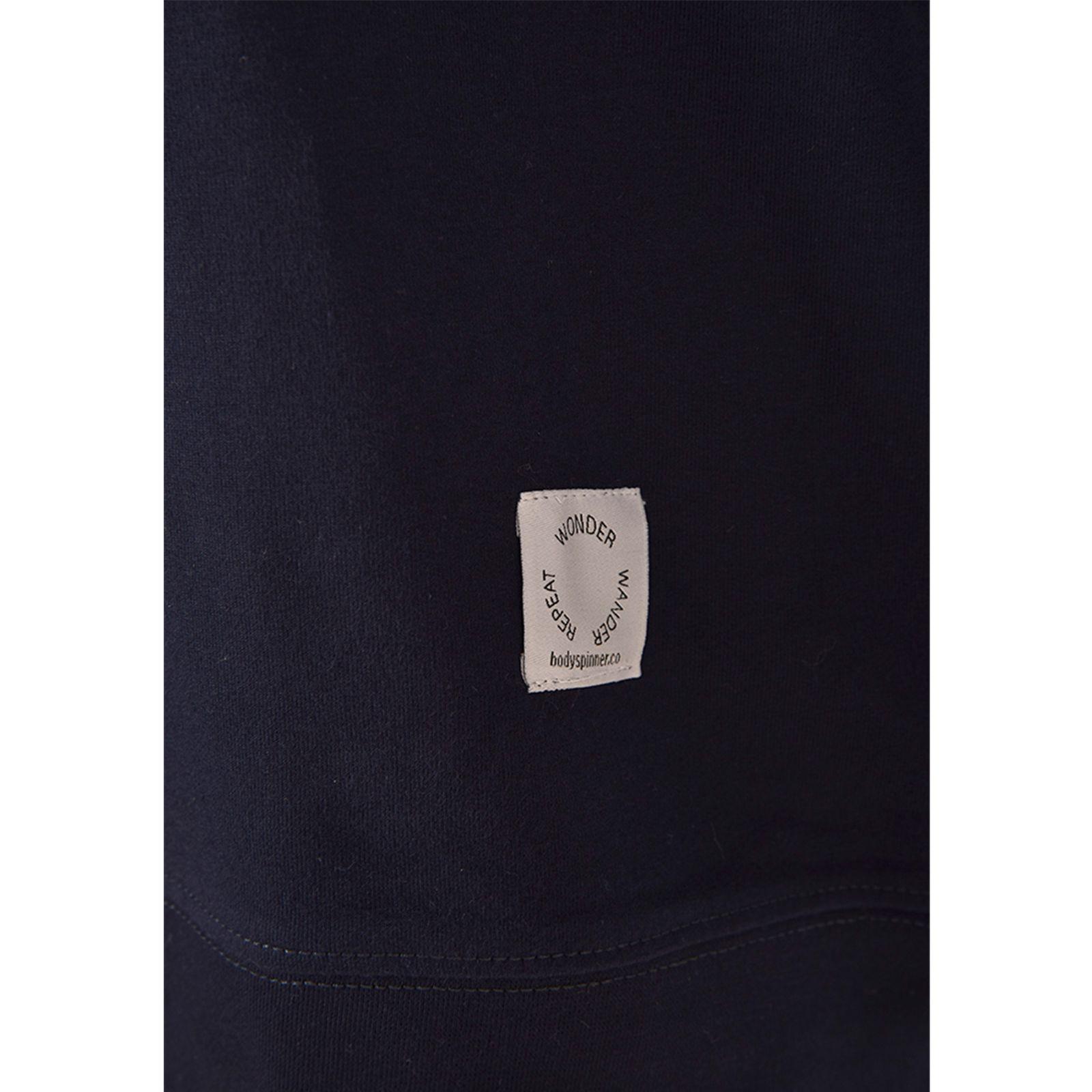 سویشرت زنانه بادی اسپینر مدل 2565 کد 1 رنگ سرمه ای -  - 2
