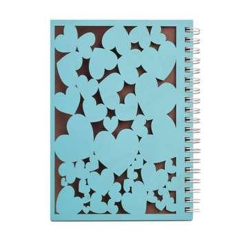 دفترچه یادداشت طرح قلب کد Lovers