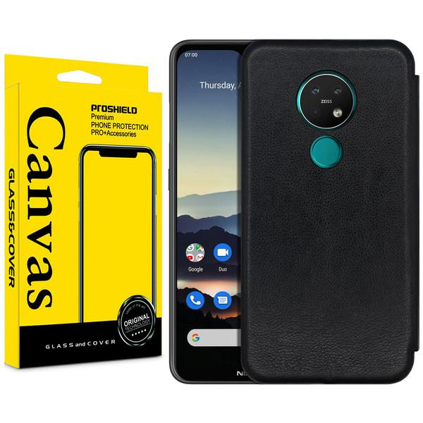 کیف کلاسوری کانواس مدل MAX SERIES مناسب برای گوشی موبایل نوکیا 7.2 / 6.2