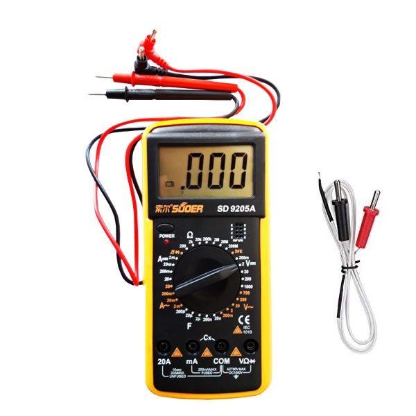 مولتی متر دیجیتال سوئر مدل SD-9208A