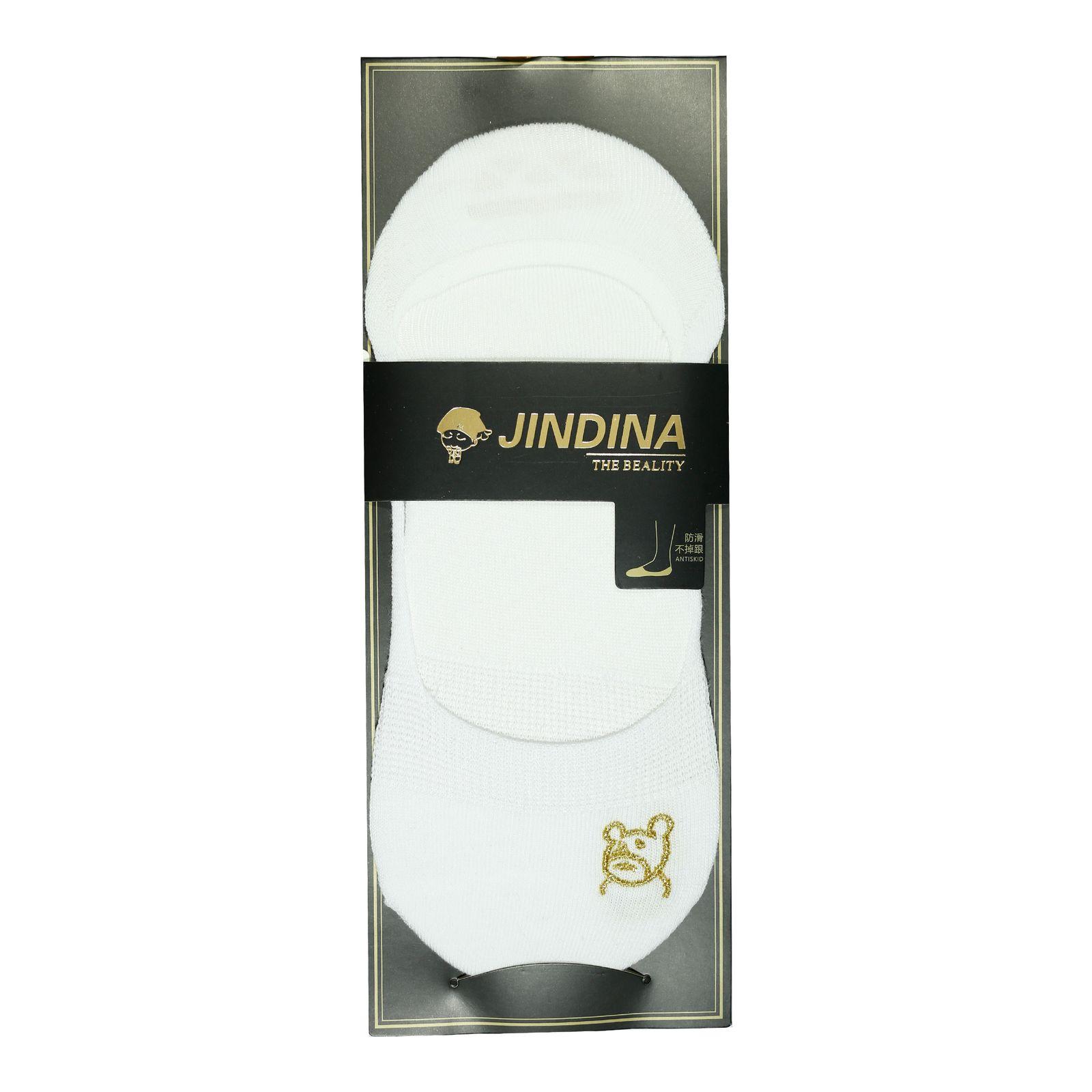 جوراب مردانه جین دینا کد BL-CK 203 مجموعه 3 عددی -  - 3