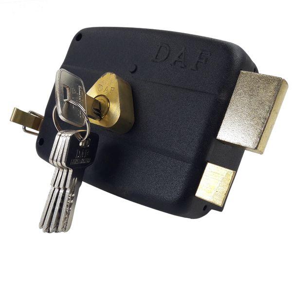 قفل حیاطی داف مدل D12