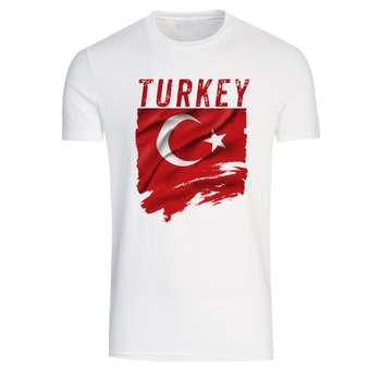 تیشرت آستین کوتاه مردانه طرح ترکیه کد T 177