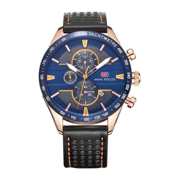 ساعت مچی عقربهای مردانه مینی فوکوس مدل MF0002G