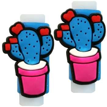 تصویر محافظ کابل مدل Cactus 02 بسته 2 عددی