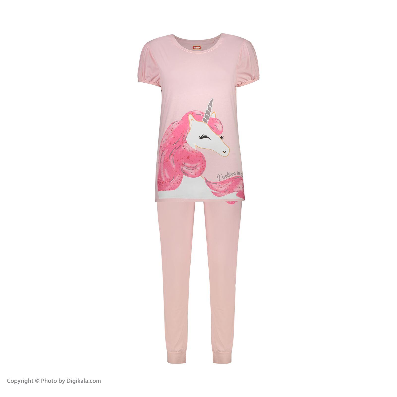 ست تی شرت و شلوار راحتی زنانه مادر مدل 2041104-84 -  - 3