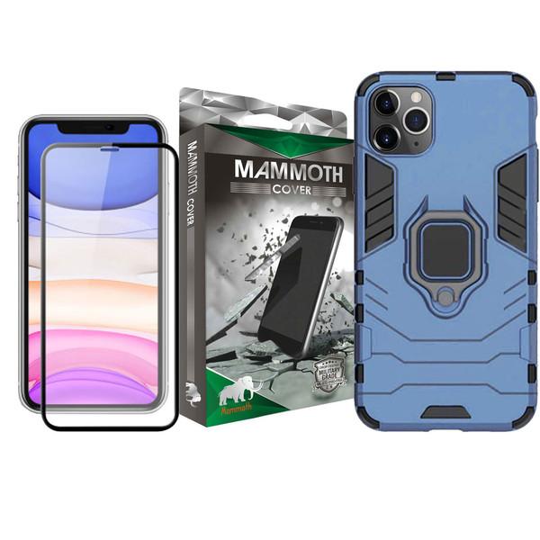 کاور ماموت مدل M-GHB-MGNT مناسب برای گوشی موبایل اپل Iphone 11 Pro به همراه محافظ صفحه نمایش