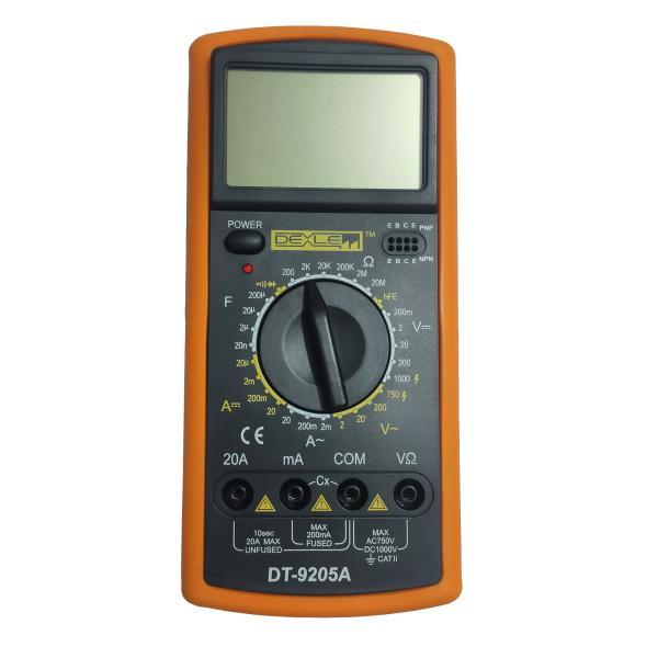مولتی متر دیجیتال دکسلر مدل DT9205A