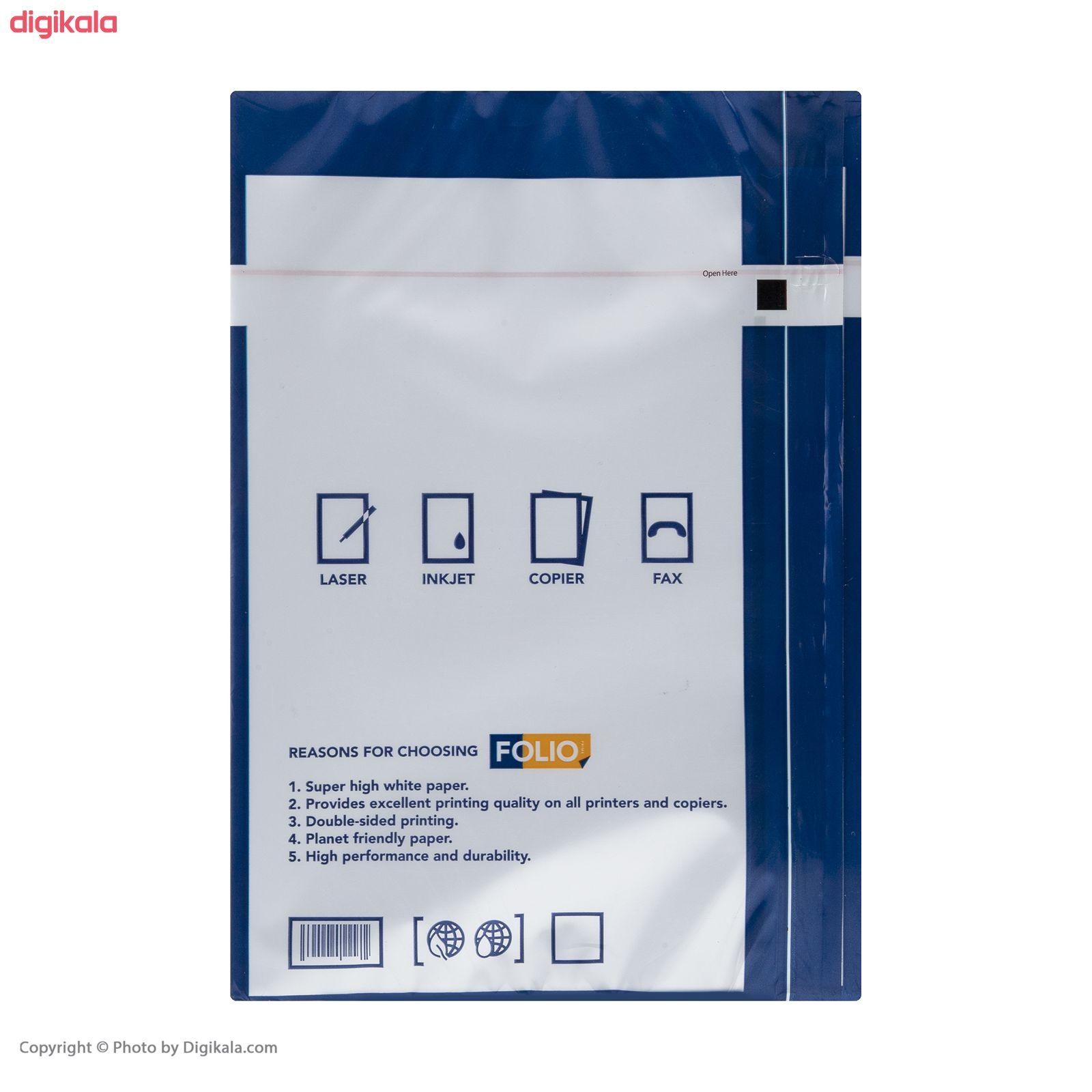 کاغذ A4 فولیو پرایم مدل +A بسته 500 عددی main 1 2