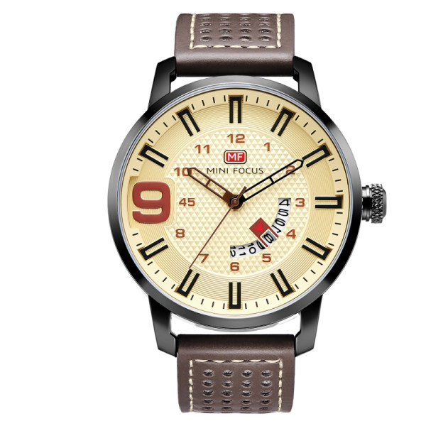 ساعت مچی عقربهای مردانه مینی فوکوس مدل MF0154G