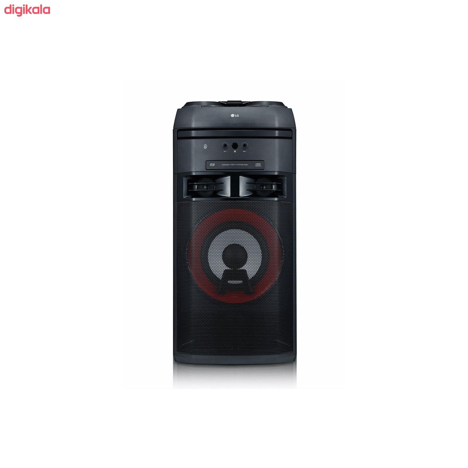 سیستم صوتی خانگی ال جی مدل OK55 main 1 6