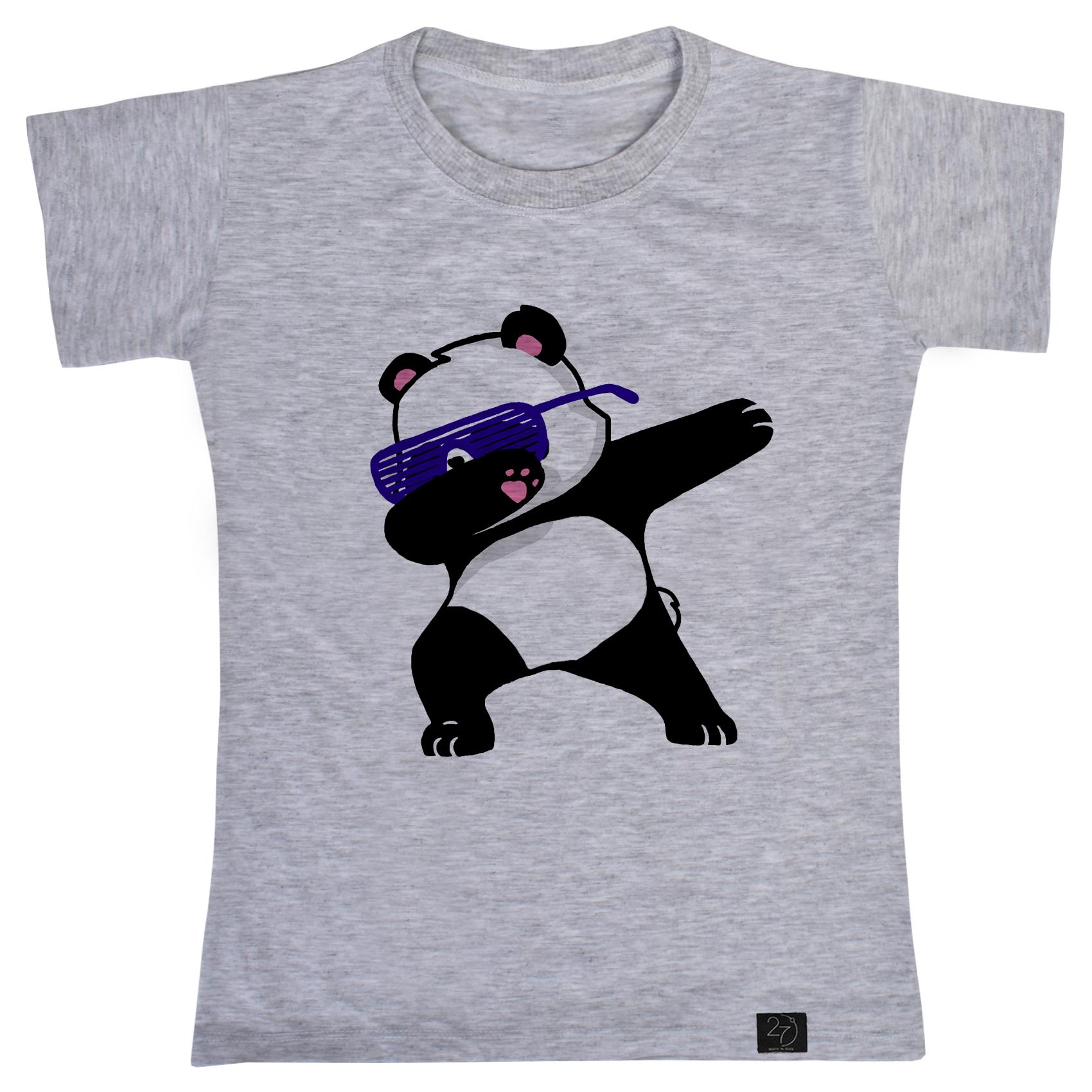 تی شرت پسرانه 27 طرح پاندا کد V07