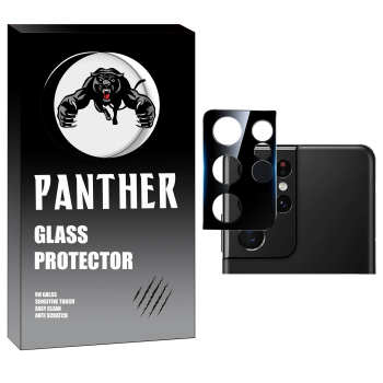 محافظ لنز دوربین پنتر مدل LZ-BK مناسب برای گوشی موبایل سامسونگ Galaxy S21 Ultra