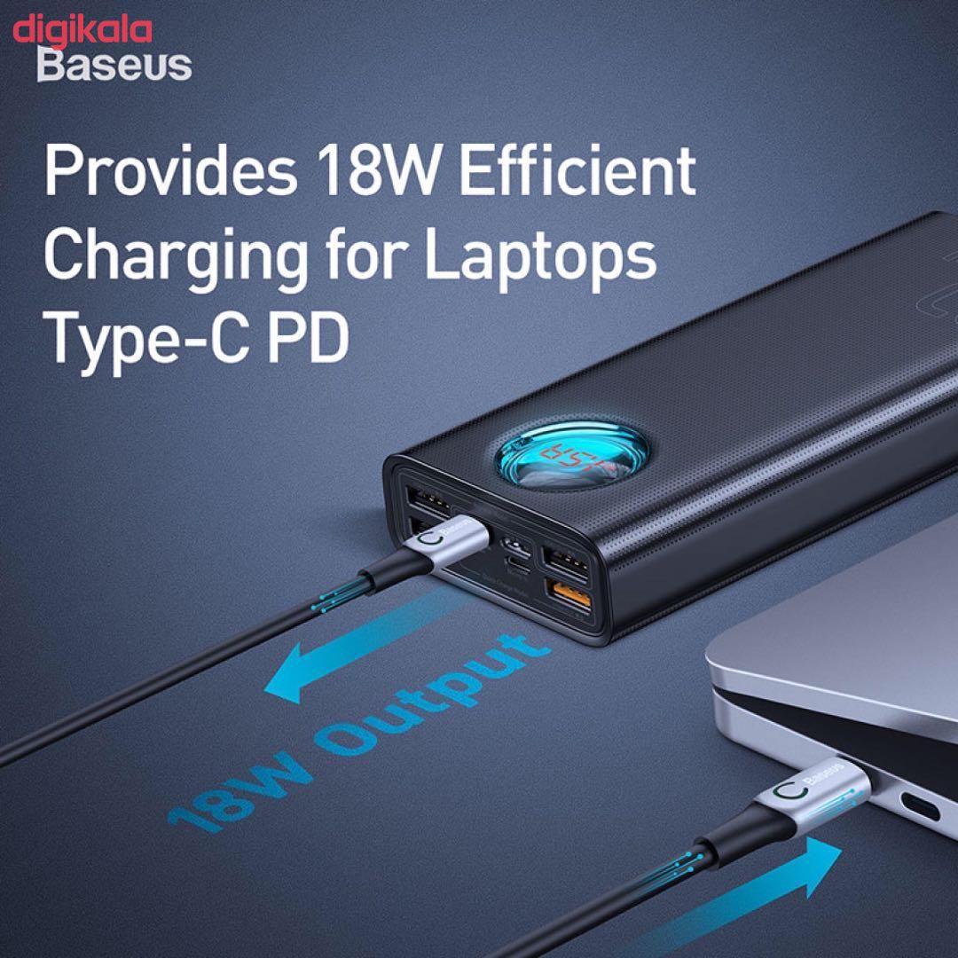 شارژر همراه باسئوس مدل BS-30PK303 ظرفیت 30000 میلی آمپر ساعت main 1 3
