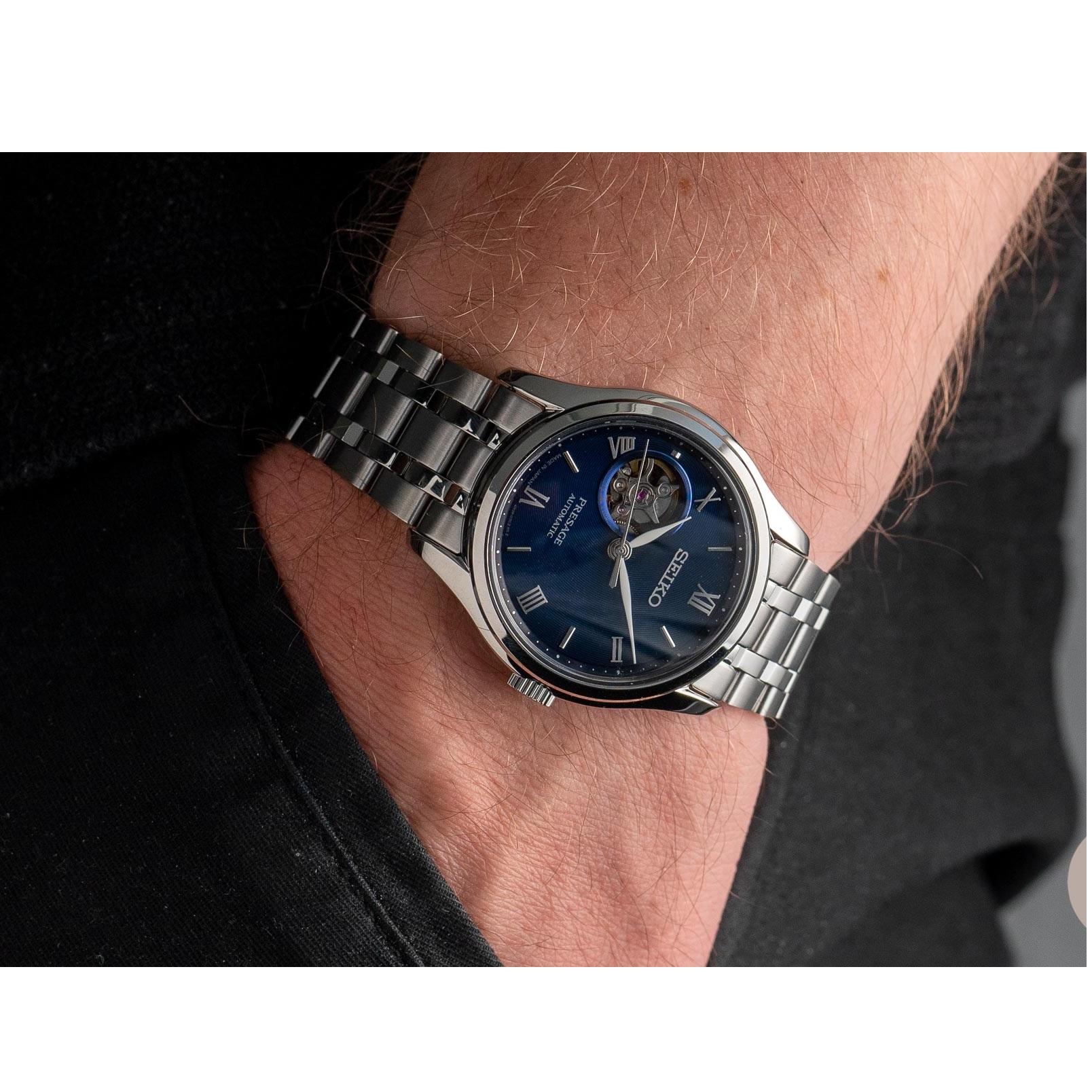 ساعت مچی عقربه ای مردانه سیکو مدل SSA411J1