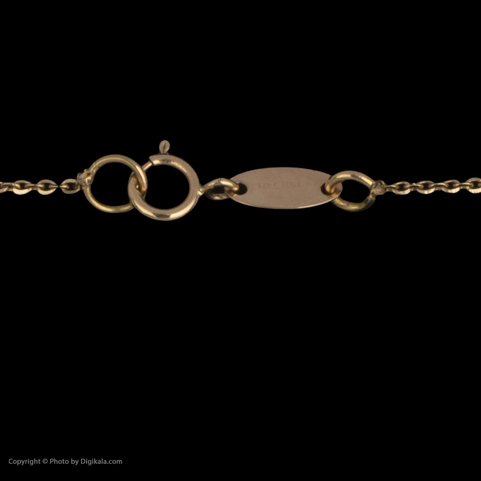 گردنبند طلا 18 عیار زنانه سیودو مدل 145719 -  - 5