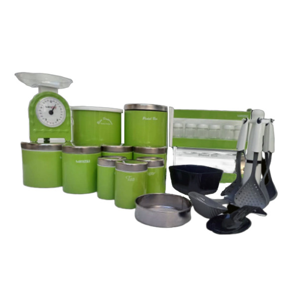 سرویس آشپزخانه 29 پارچه سام ست مدل آرتمیس