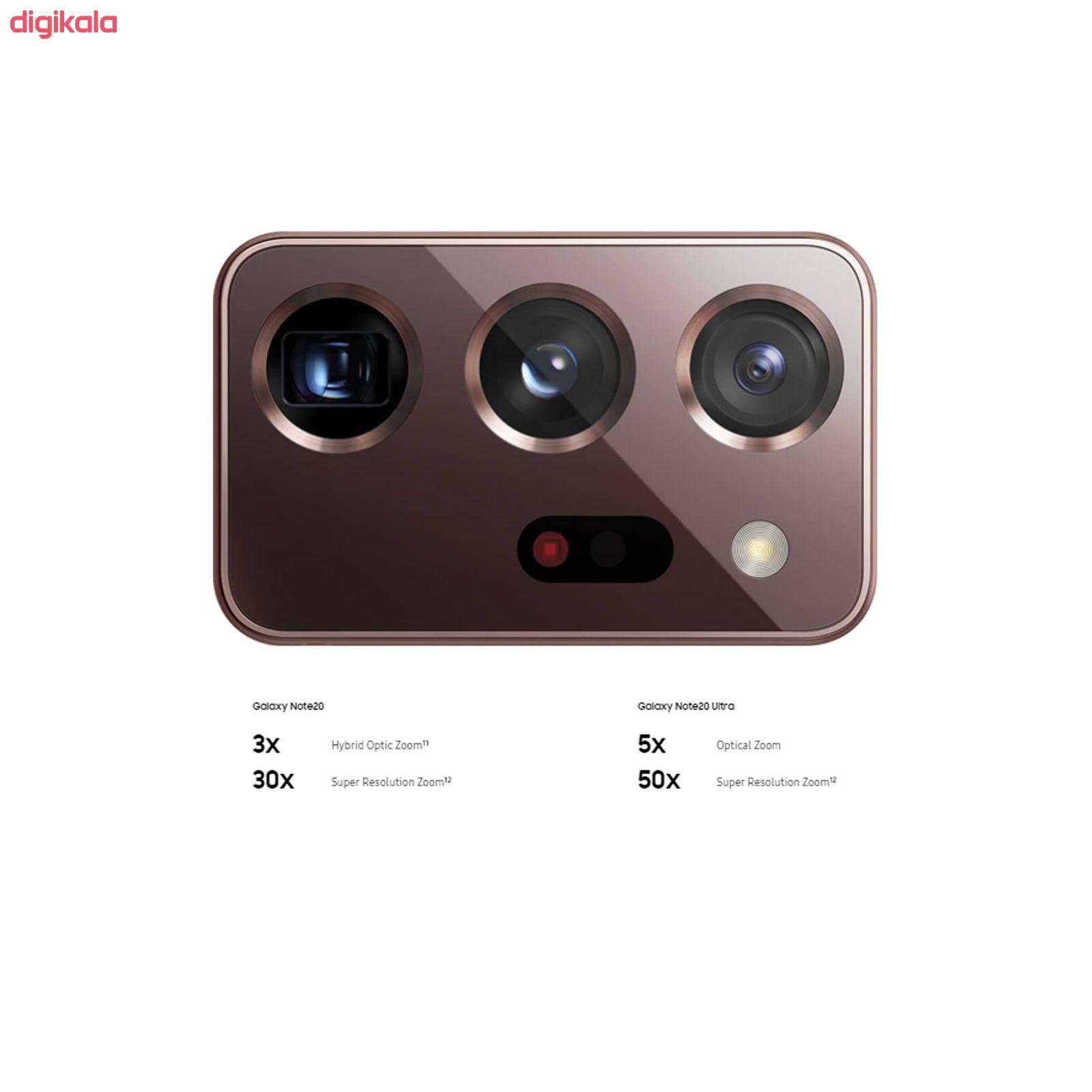 گوشی موبایل سامسونگ مدل Galaxy Note20 Ultra SM-N985F/DS دو سیم کارت ظرفیت 256 گیگابایت  main 1 15