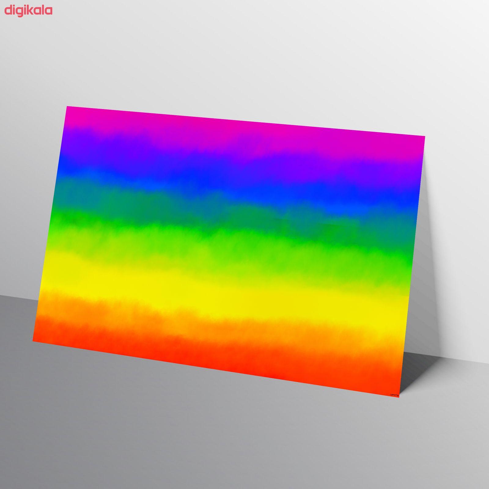 کاغذ رنگی A4 مستر راد مدل آبرنگ بسته 10 عددی main 1 13