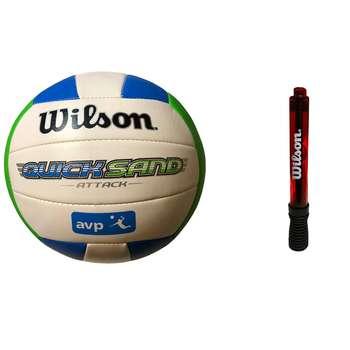 توپ والیبال ویلسون مدل WT-4892 به همراه تلمبه