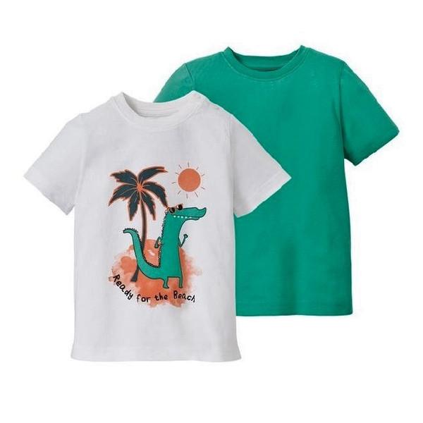 تی شرت پسرانه لوپیلو مدل lup061 مجموعه 2 عددی