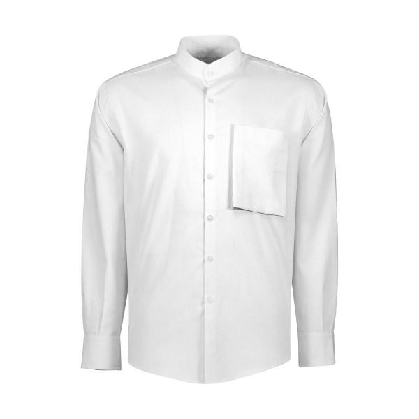 پیراهن آستین بلند مردانه یله مدل M4493000SHرنگ سفید