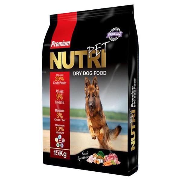 غذای خشک سگ نوتری پت مدل Adult Premium 29 Percent Probiotics وزن 15 کیلوگرم