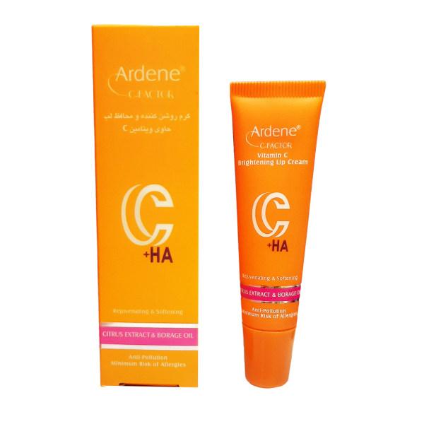 کرم روشن کننده و محافظ  لب آردن مدل ویتامین C حجم 12 میلی لیتر