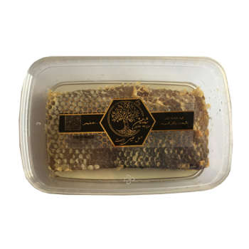 عسل طبیعی با موم شایلین - 500 گرم