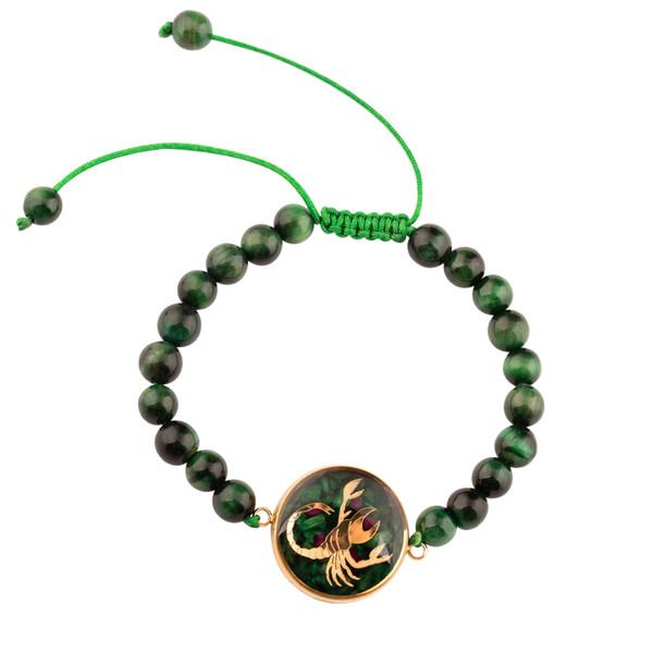 دستبند زنانه الون طرح ماه آبان کد TIG102