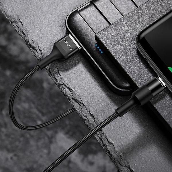 کابل تبدیل USB به USB-C یوسمز مدل SJ221 طول 1.2 متر