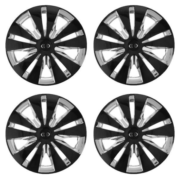قالپاق چرخ ام اچ بی مدل ACTION01 سایز 14 اینچ مناسب برای پژو 206 بسته 4 عددی