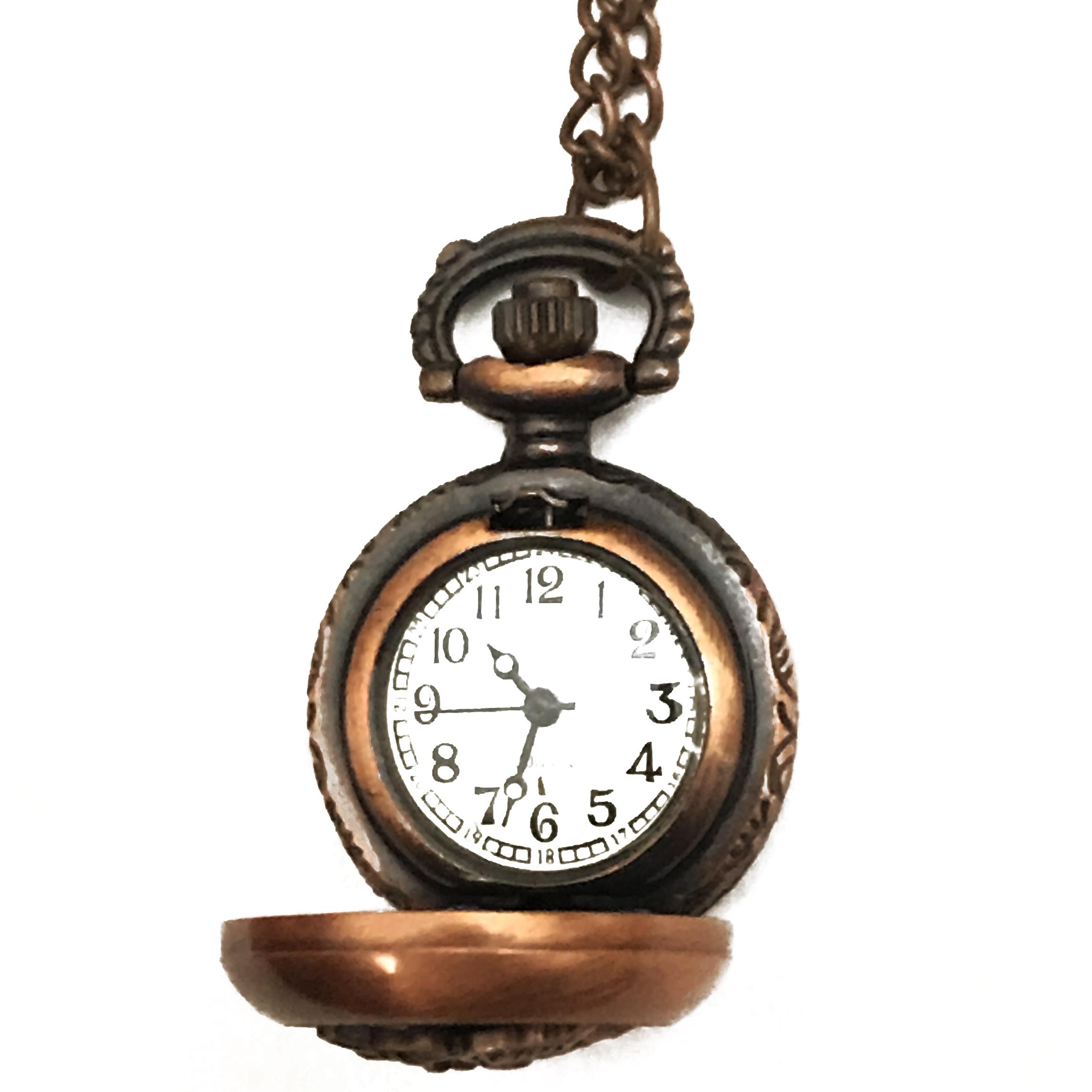 ساعت گردنبندی عقربه ای کد BF16