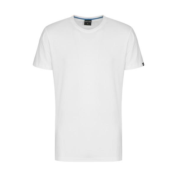 تیشرت آستین کوتاه مردانه ان سی نو مدل بیتر رنگ سفید